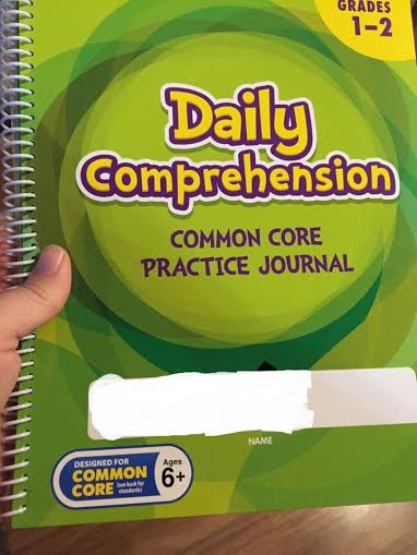 Prior Lake spelling book common core