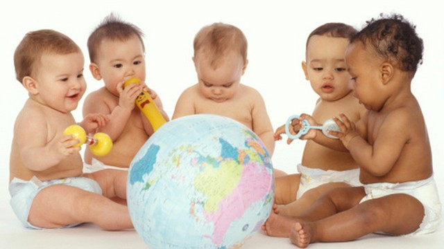 multicultural babies
